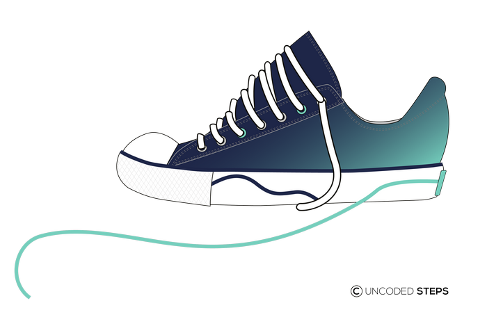 Sneakers funny UncodedSteps footwear design_3