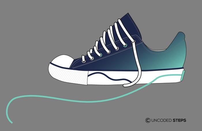 Sneakers funny UncodedSteps footwear design_3