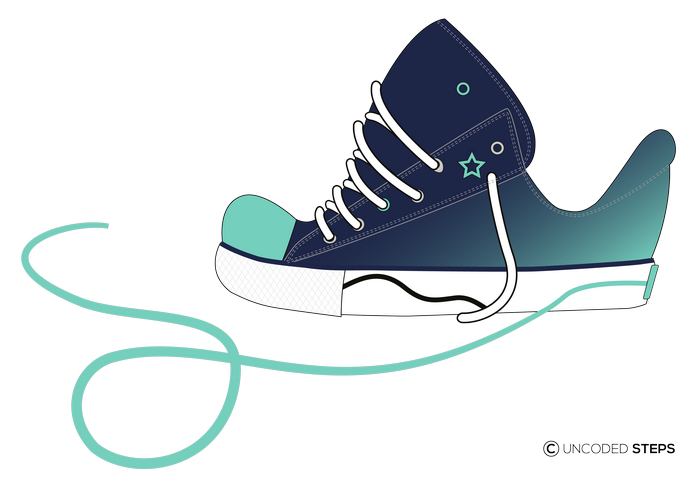 Sneakers funny UncodedSteps footwear design_4