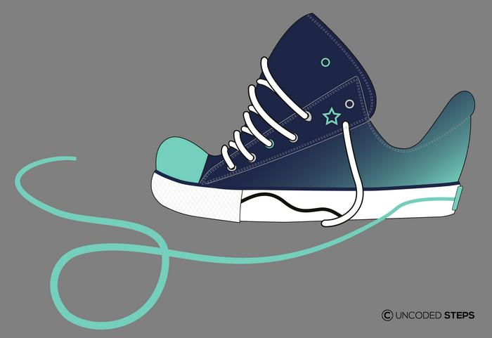 Sneakers funny UncodedSteps footwear design_4