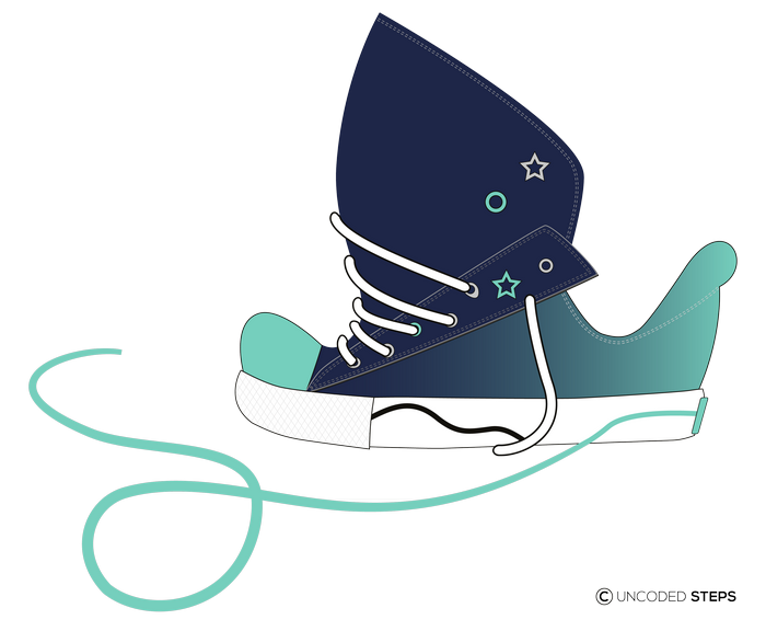 Sneakers funny UncodedSteps footwear design_5