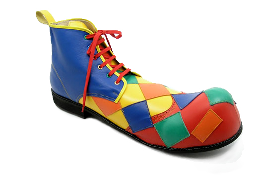 Van Beers clown shoes uncodedsteps footwear design