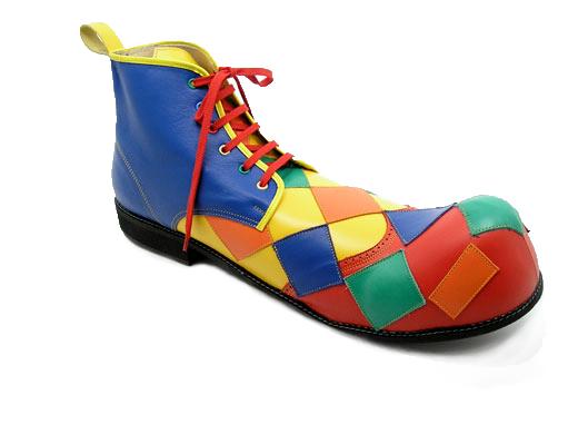 Van Beers clown shoes uncodedsteps footwear design