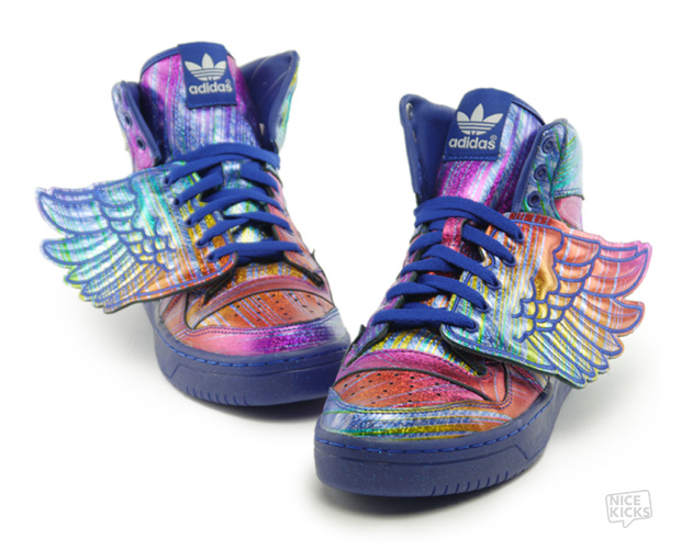 Adidas Jeremy Scott Uncoded Steps sneakers סניקרס נעליים