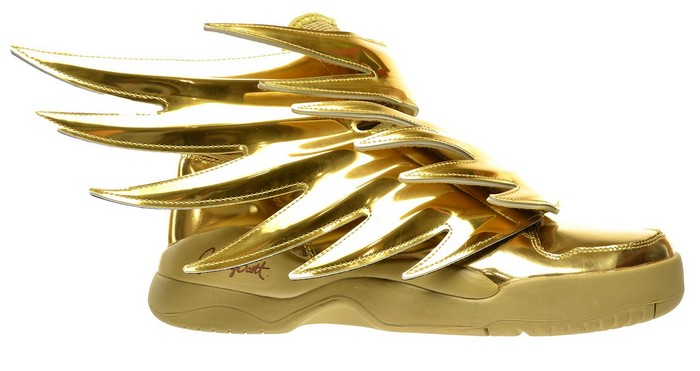 Adidas wing sneakers metalic Uncoded Steps_סניקרס מוזהבות