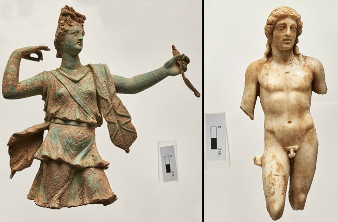 statues-of-Greek-gods-unearthed-in-Crete-Uncoded Steps footwear design