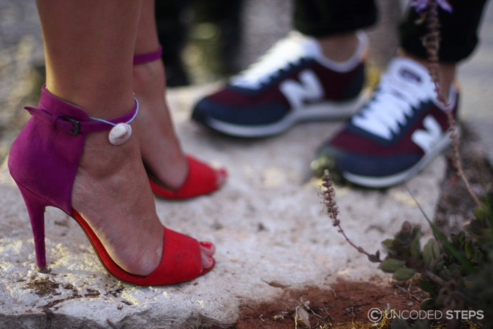 Uncoded Steps Cinderella Syndrome-Stiletto-Sharon Ziv-Zara BarakLahav-New Balance_2