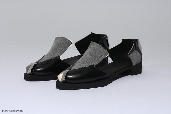 Uncoded Steps Mary Grossman shoe design Shenkar