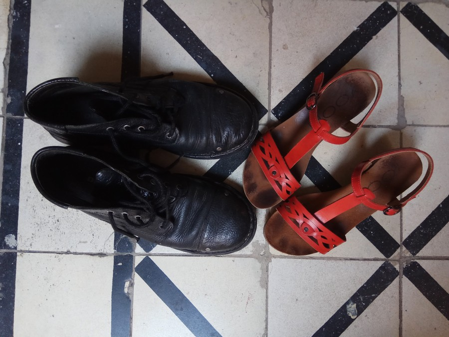 Aida Melman אאידה מלמן עיצוב סנדלים נעלי גברים בלוג נעליים UncodedSteps_1