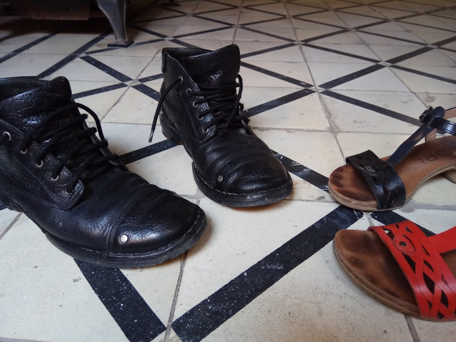 Aida Melman אאידה מלמן עיצוב סנדלים נעלי גברים בלוג נעליים UncodedSteps_5